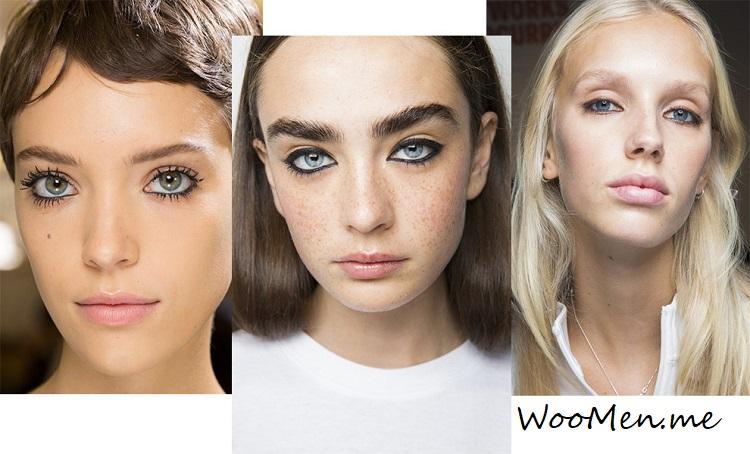 модный макияж глаз весна-лето 2018