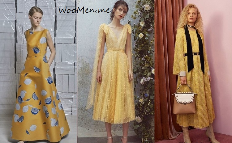 Модные платья весна-лето 2018 фото