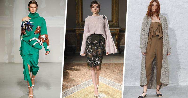 Модные кофты оверсайз весна 2018