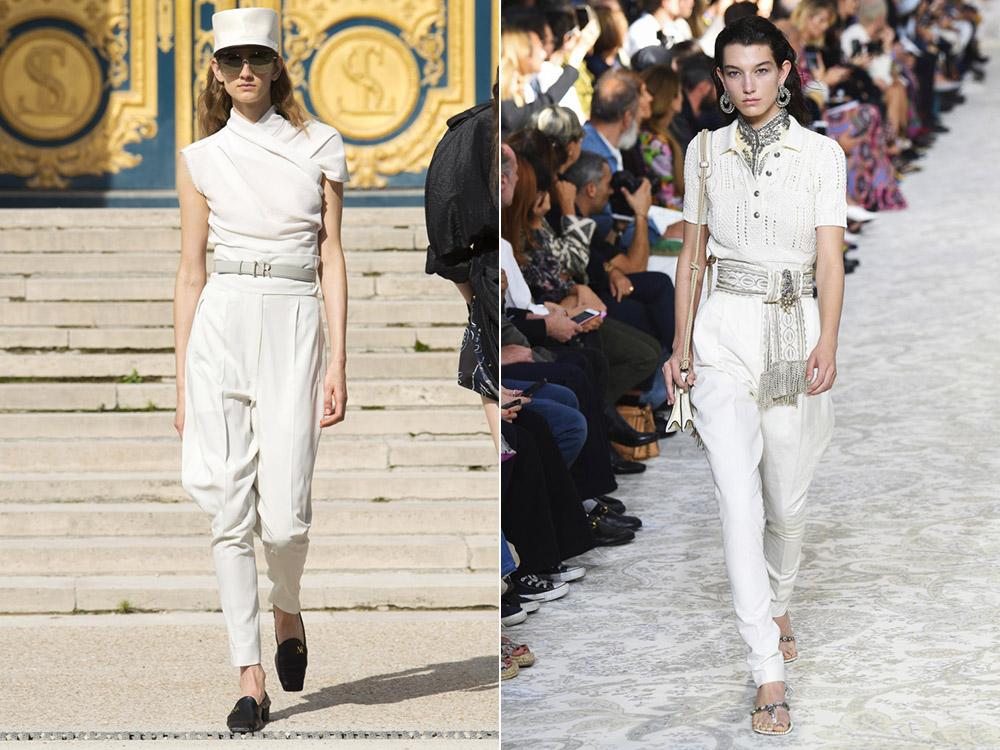 Модные брюки весна-лето 2018