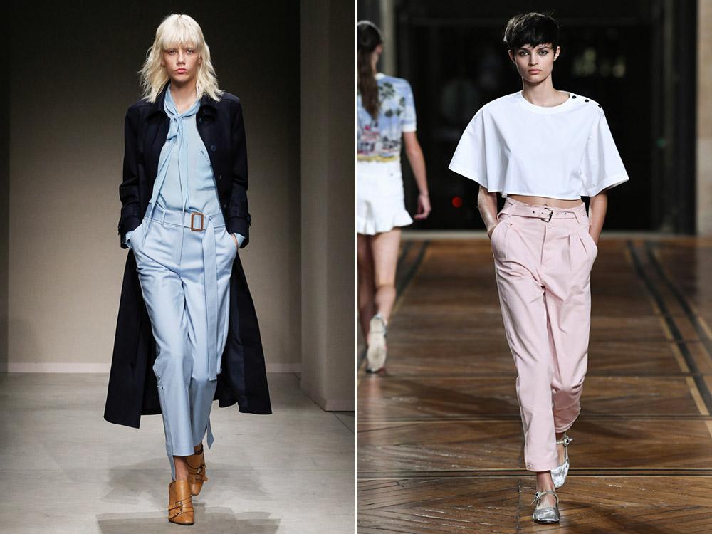 Классические брюки весна-лето 2018