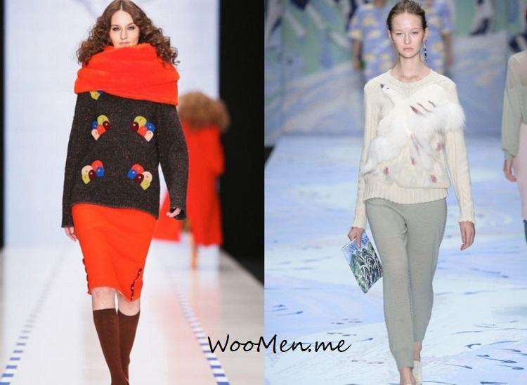Модные кофты весна 2018