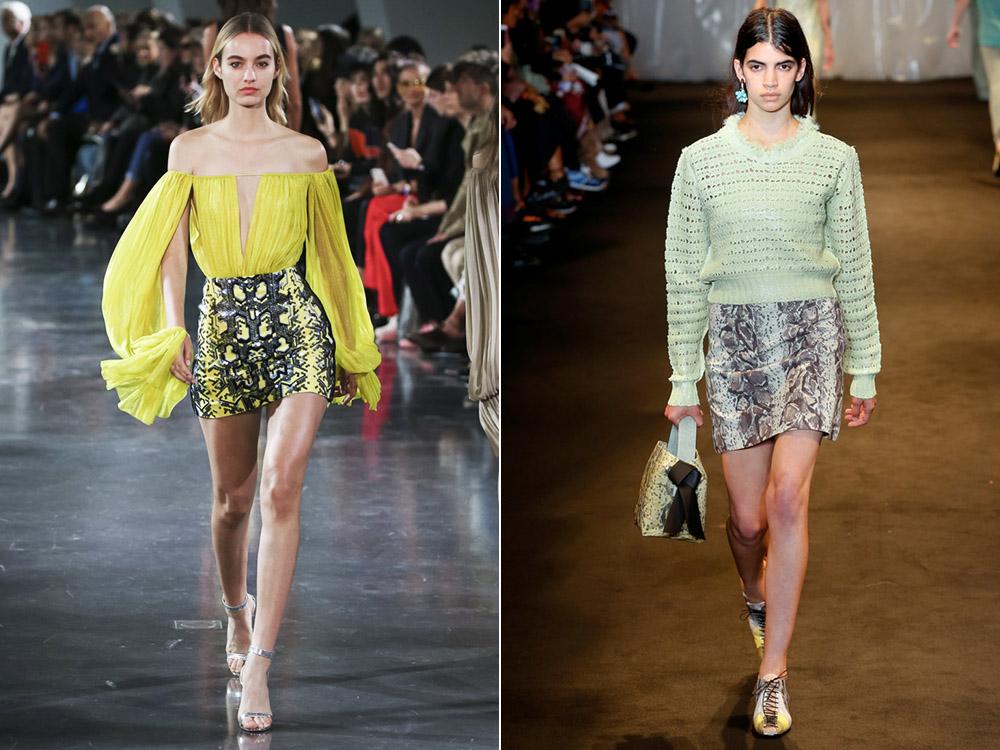 Модные юбки весна-лето 2018