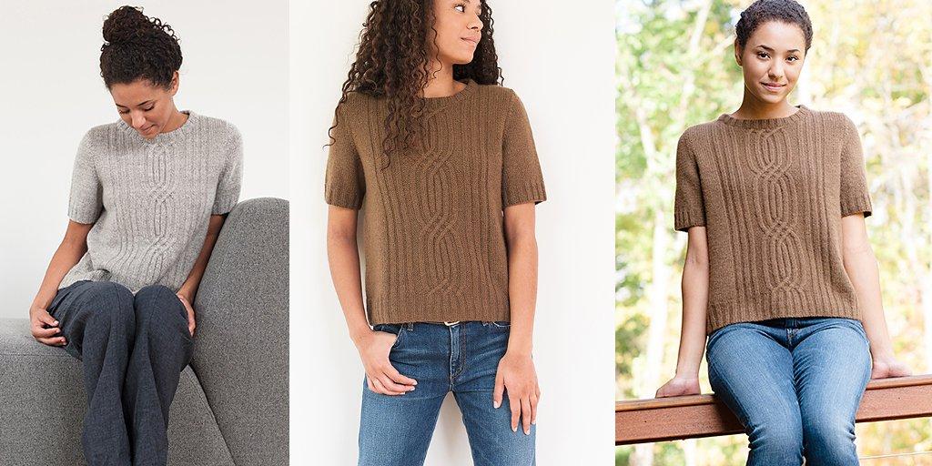 Модные кофты с короткими рукавами