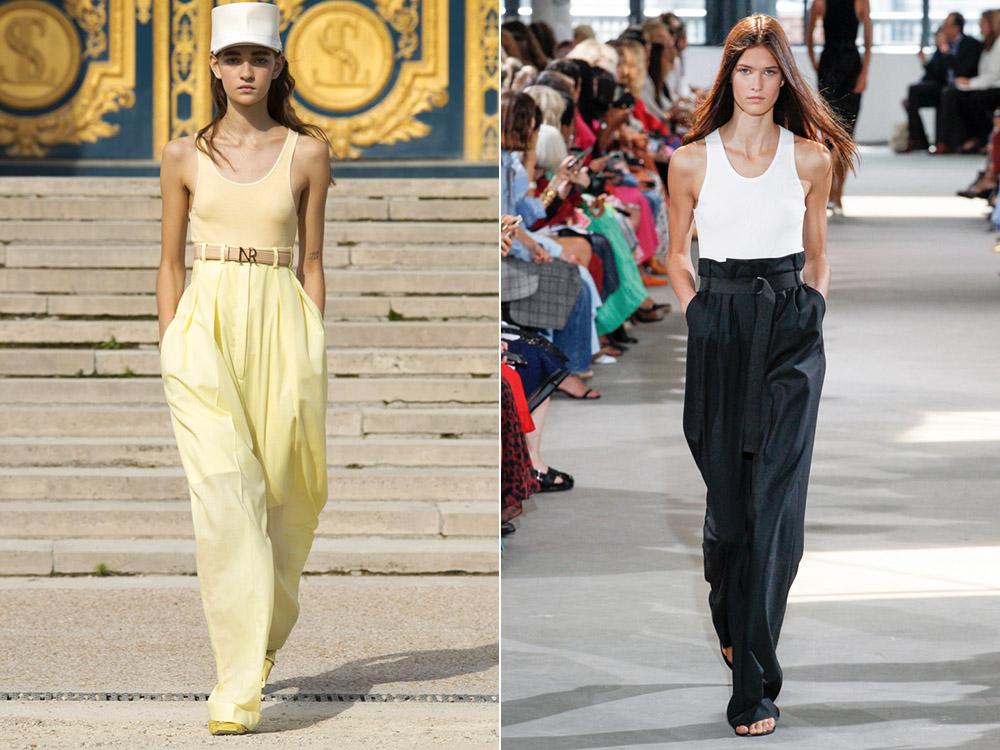 7cbca631 Модные брюки весна-лето 2019 - 60 фото
