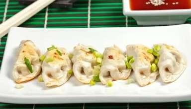 Рецепт китайских пельменей с мясом