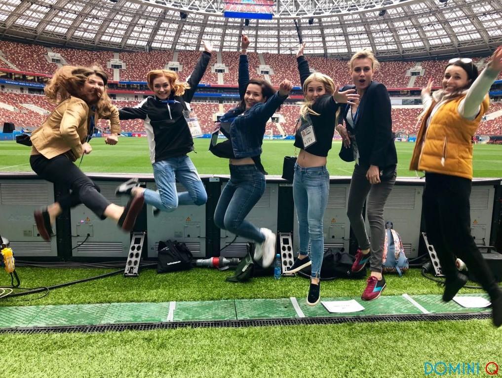 Команда DOMINI Q на FIFA 2018