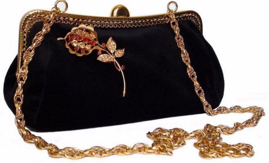 Женская вечерняя сумка