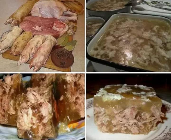 Предварительная обработка мяса для холодца