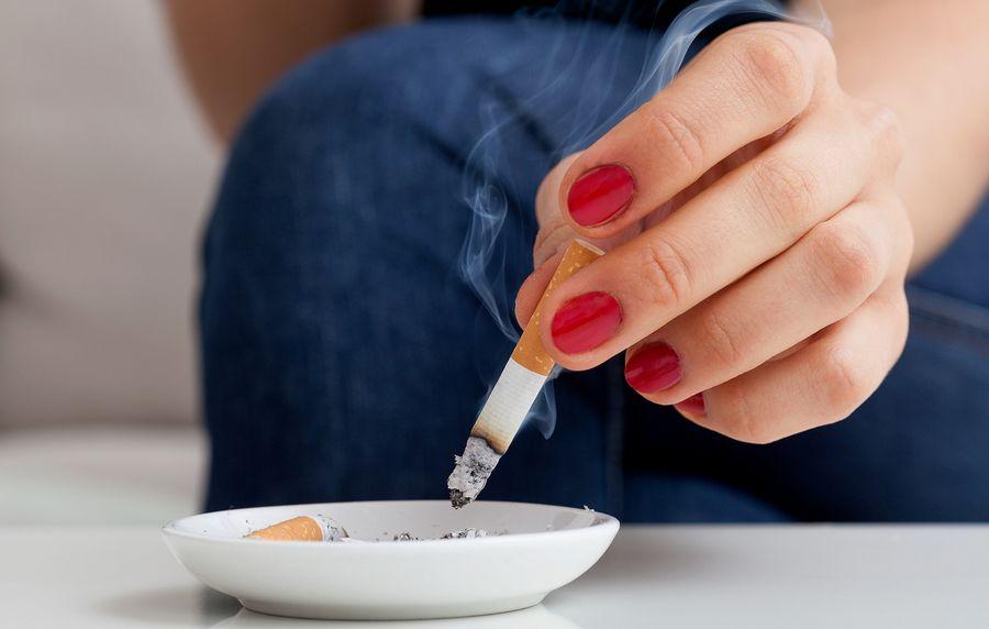Курение способствует целлюлиту