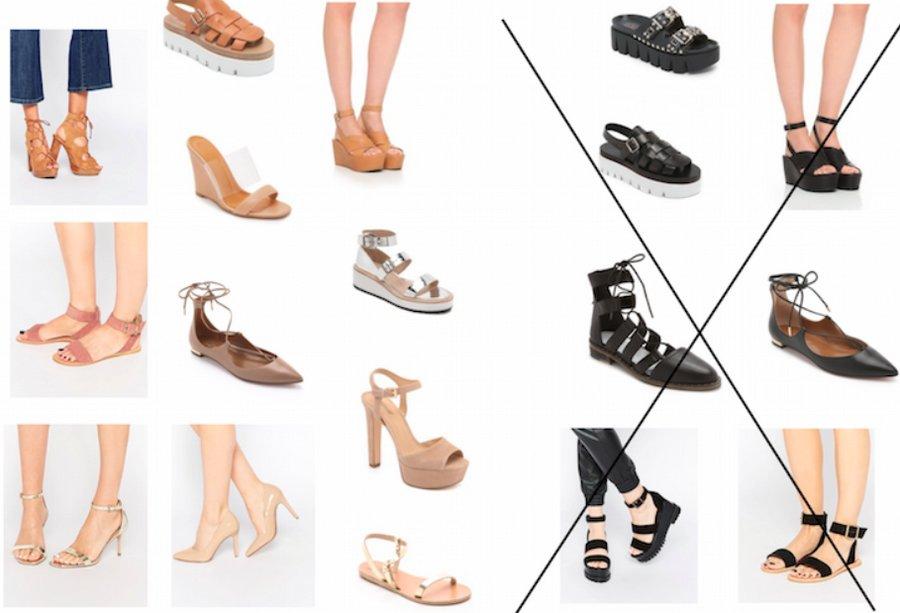 Какую обувь носить невысоким женщинам