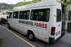 Микроавтобус отеля Grand Faros Hotel