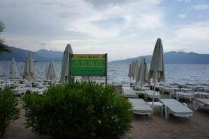 Пляж отеля Grand Faros Hotel