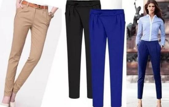 модные брюки дудочки