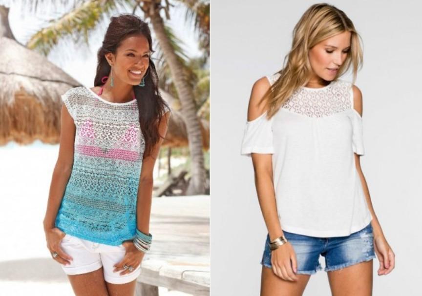 Модные женские футболки, майки, топы 2019 года