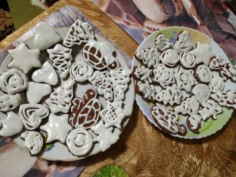 Имбирные пряники с глазурью