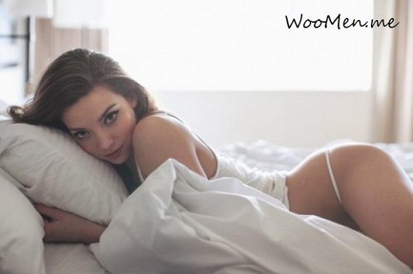 Селфи в спальне
