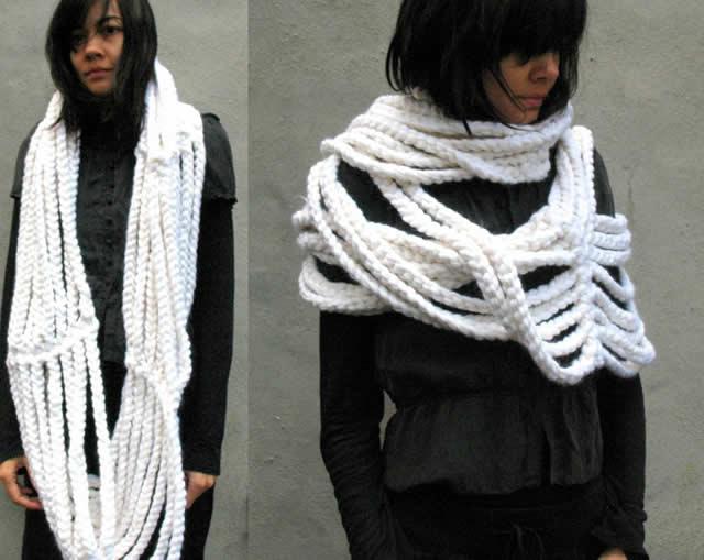 Модные шарфы 2016 год