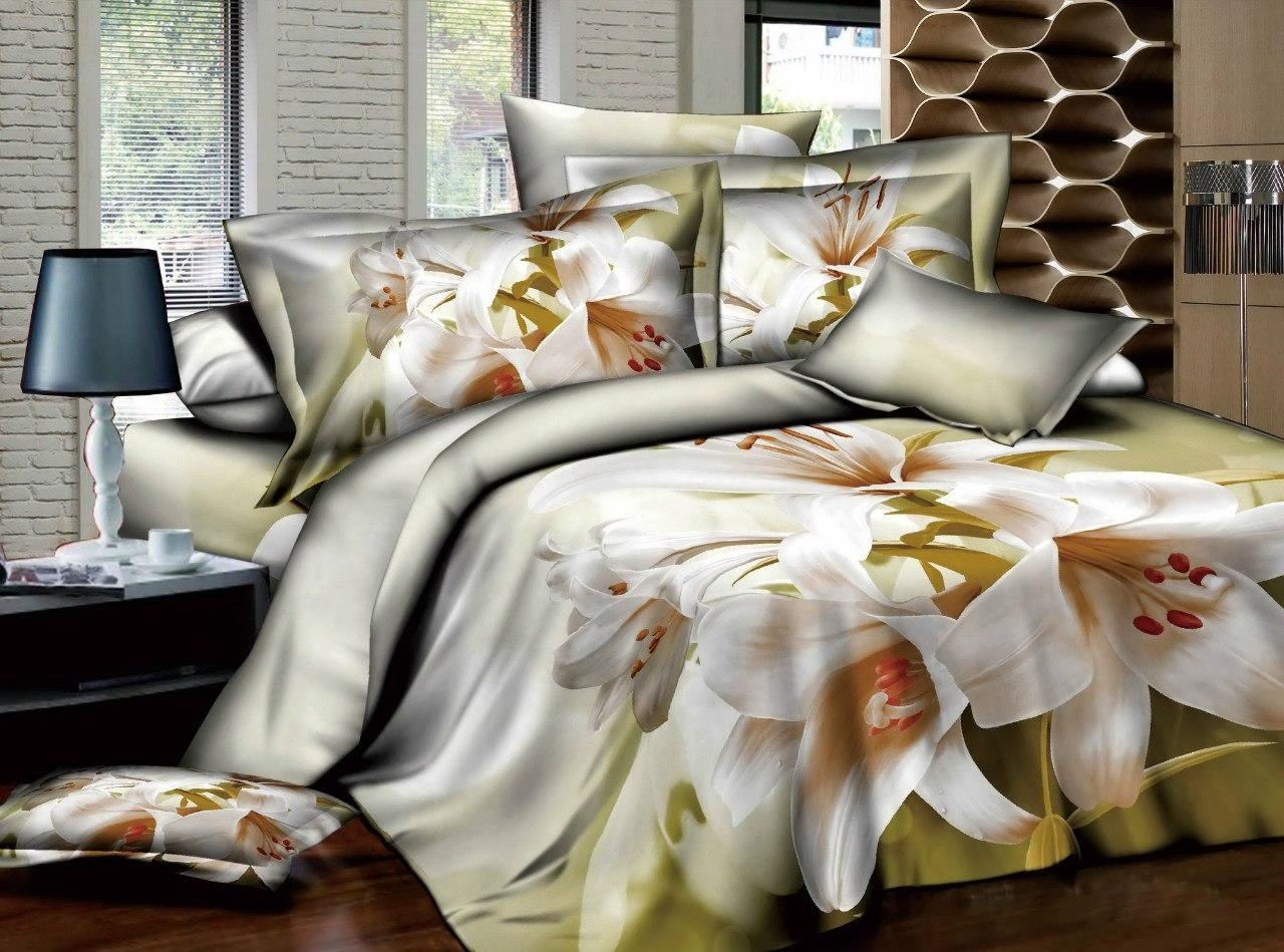 Модное постельное белье 3д
