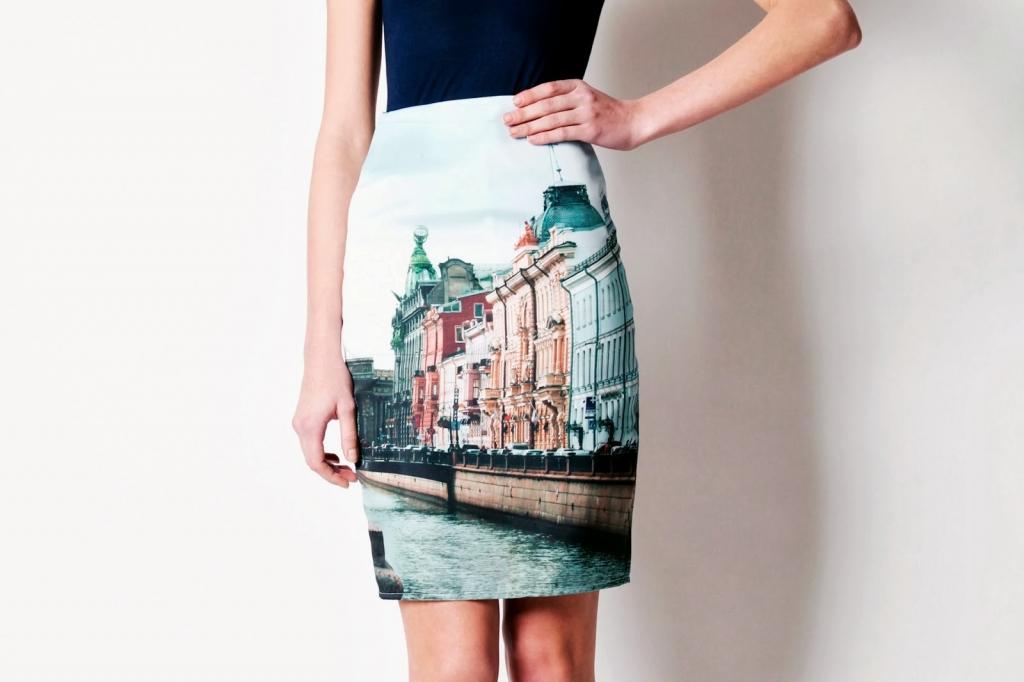 модная юбка 2016