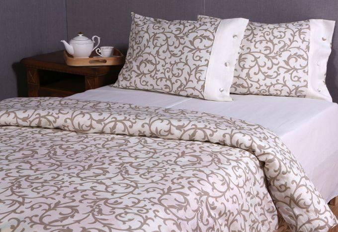 Постельное белье из шлифованного льна