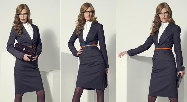 строгий деловой костюм женский большого размера