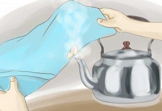 Как удалить жвачку с одежды?