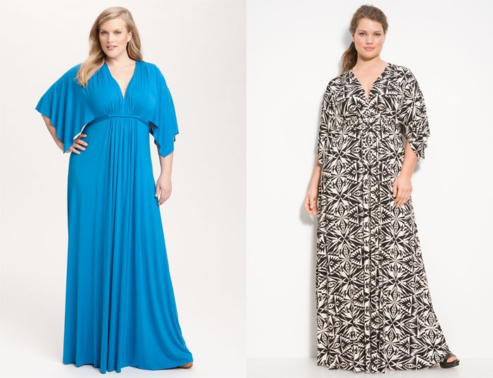 Модная одежда для полных женщин 2017