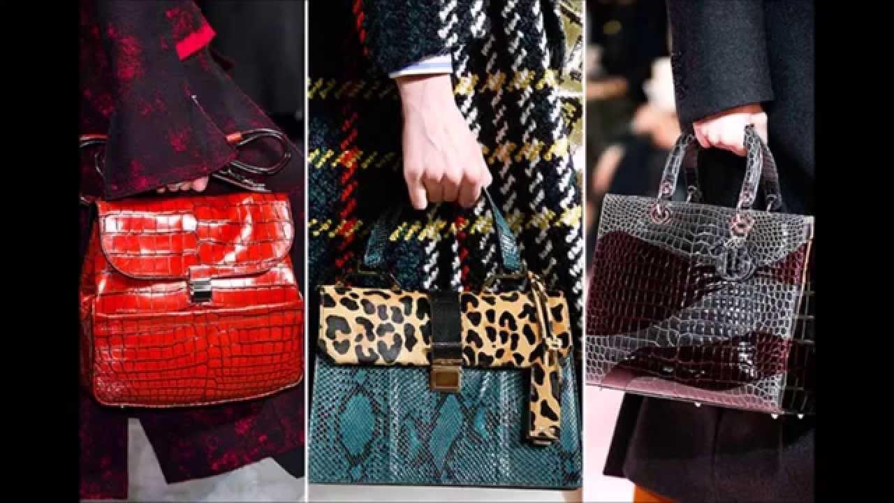 Актуальные модели сумок 2016-2017