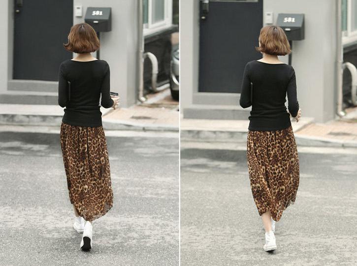 юбка леопард 2016