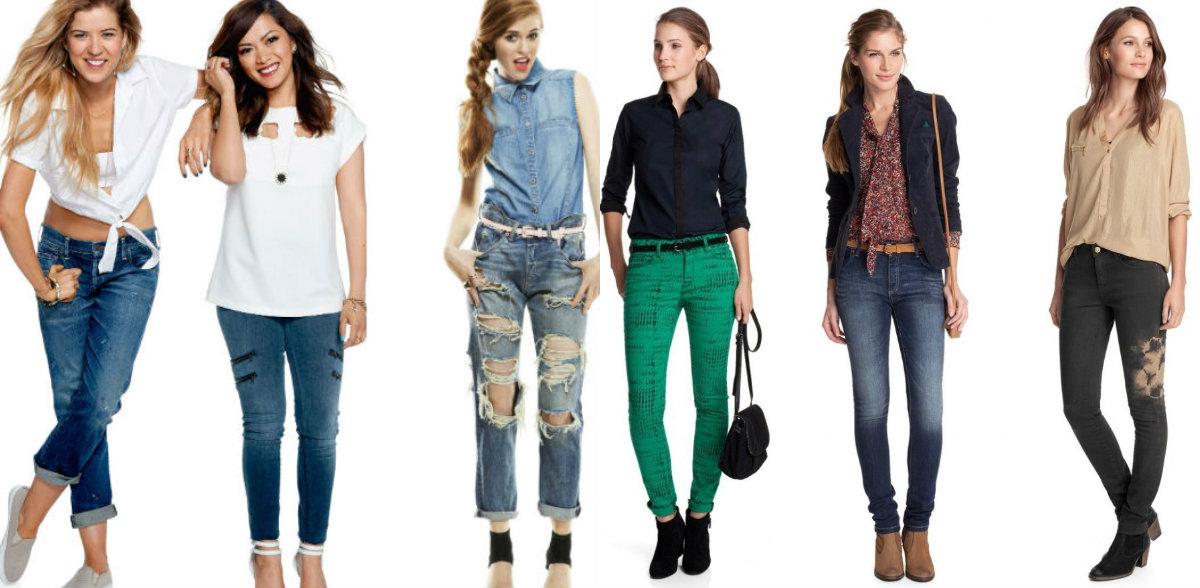 Джинсовая мода для подростков 11-15 лет