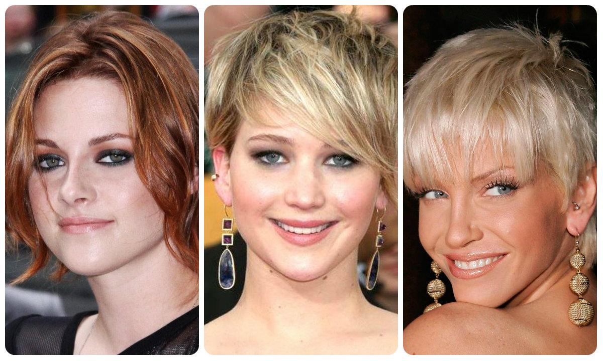 Экспрессия на коротких волосах в 2016