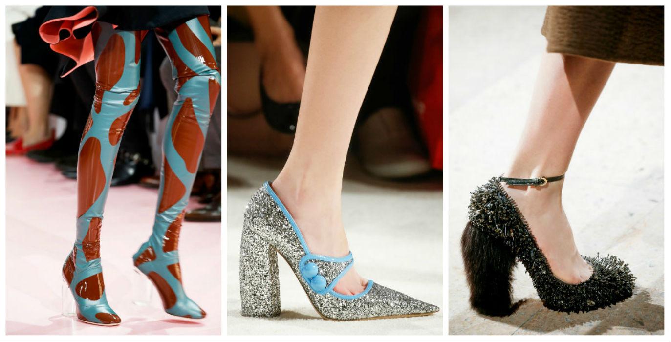 Космический стиль в обуви 2016-2017
