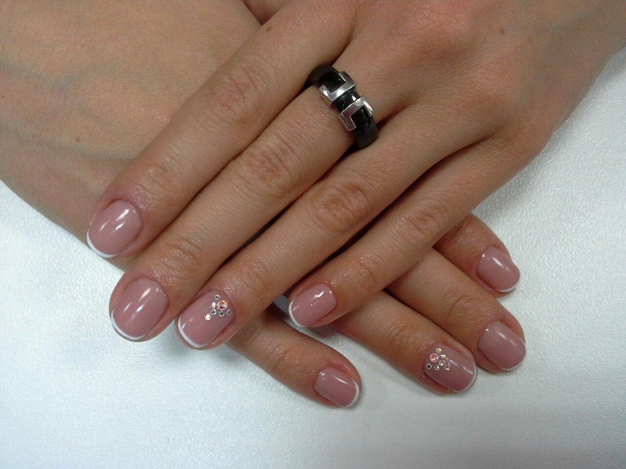 Маникюр на коротких ногтях в 2016 году