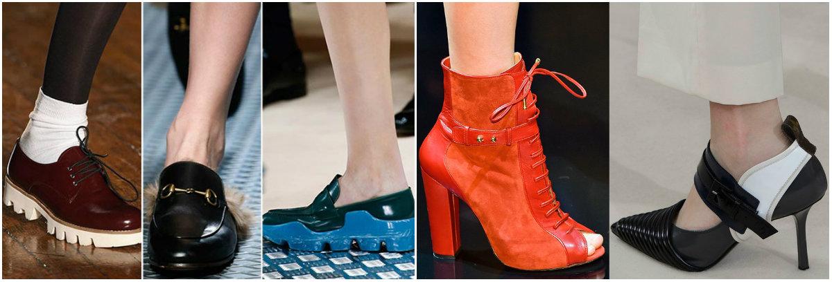 Модная обувь в 2016