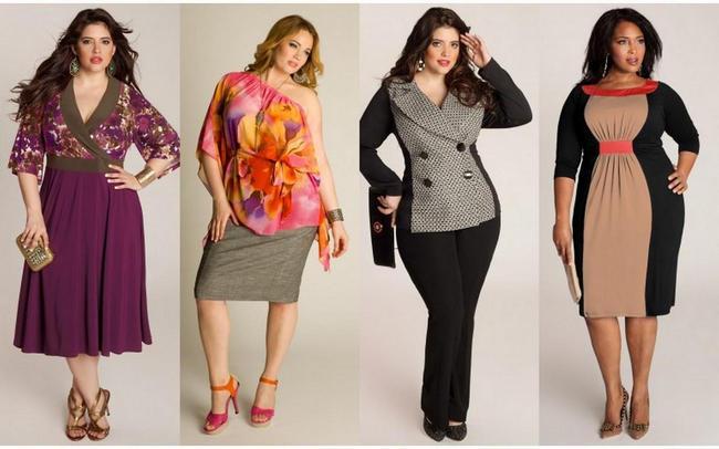 Модные модели для полных 2016