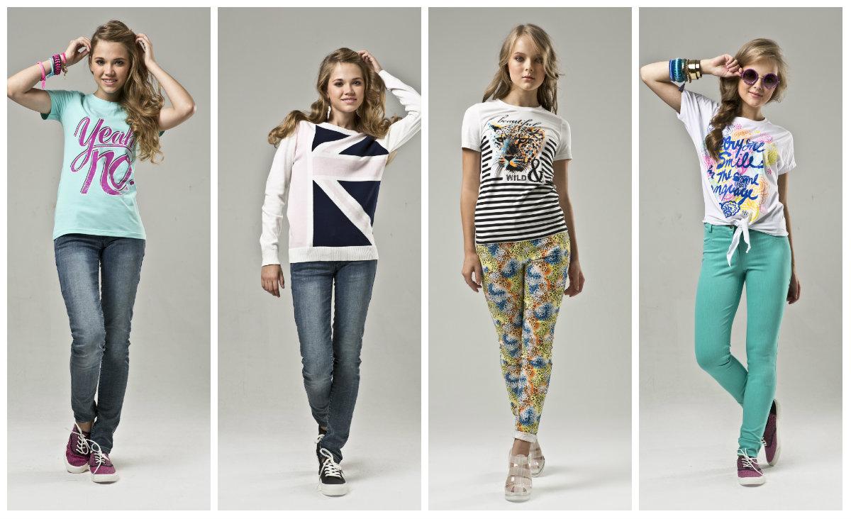 Модные рисунки для подростковой одежды