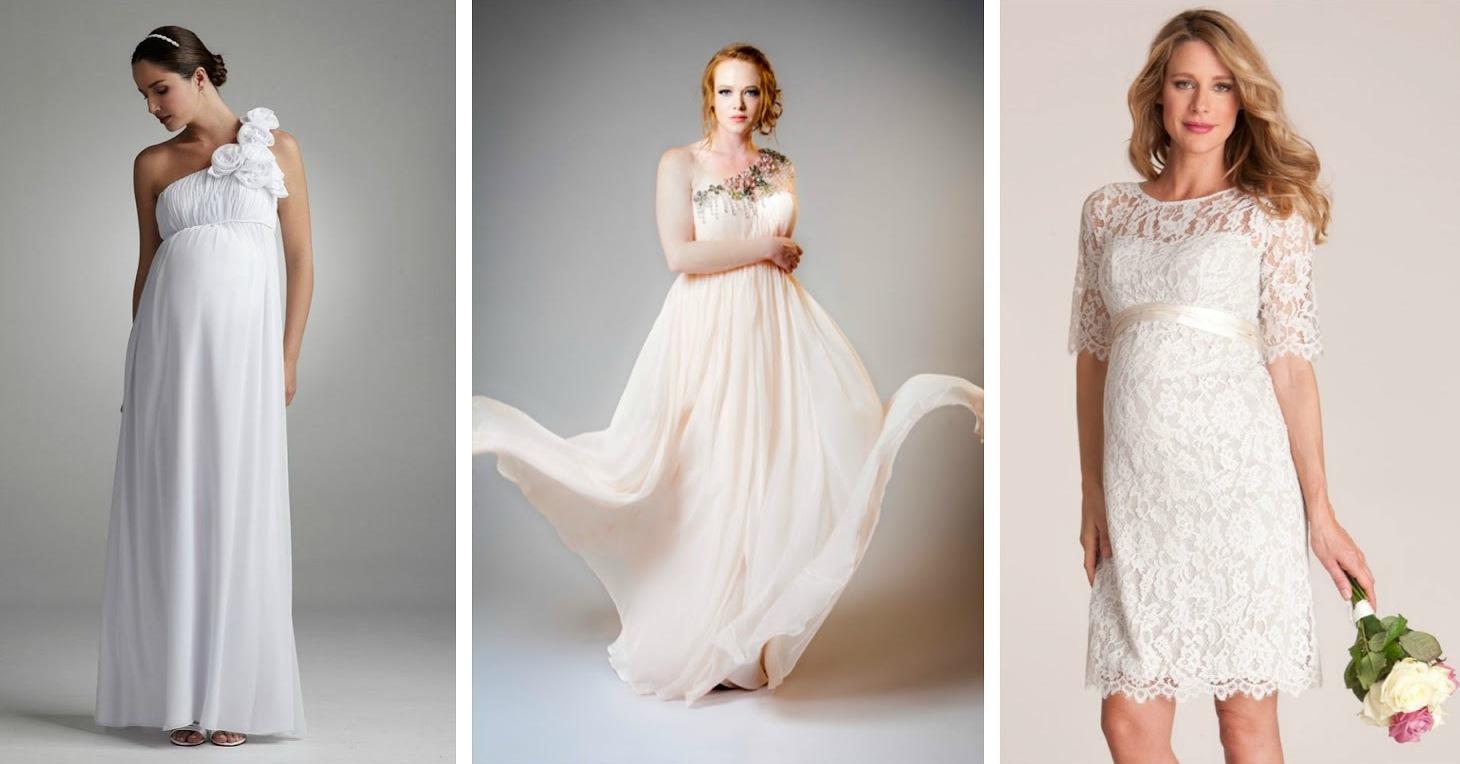 Модные свадебные платья для беременных