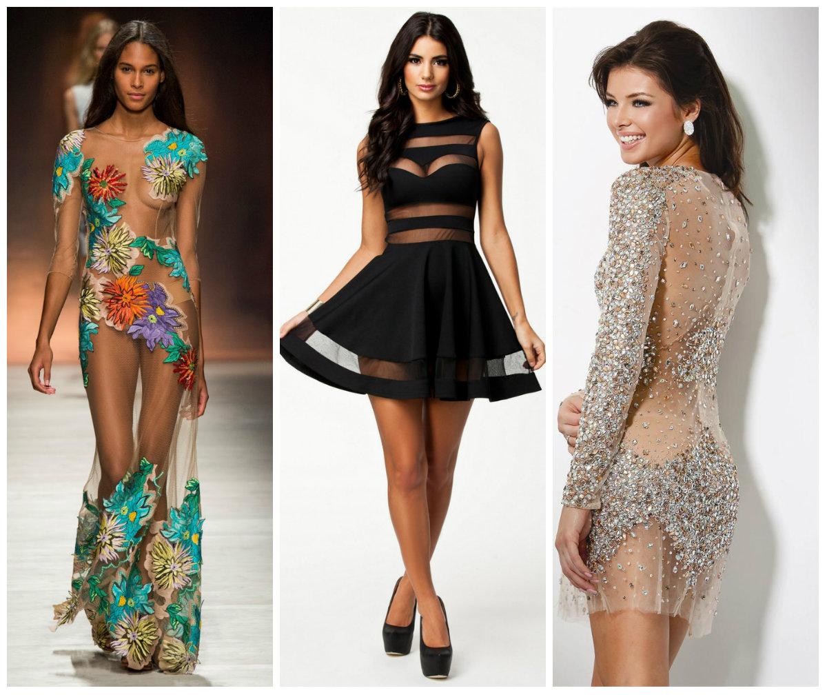Платья-сетки в 2016