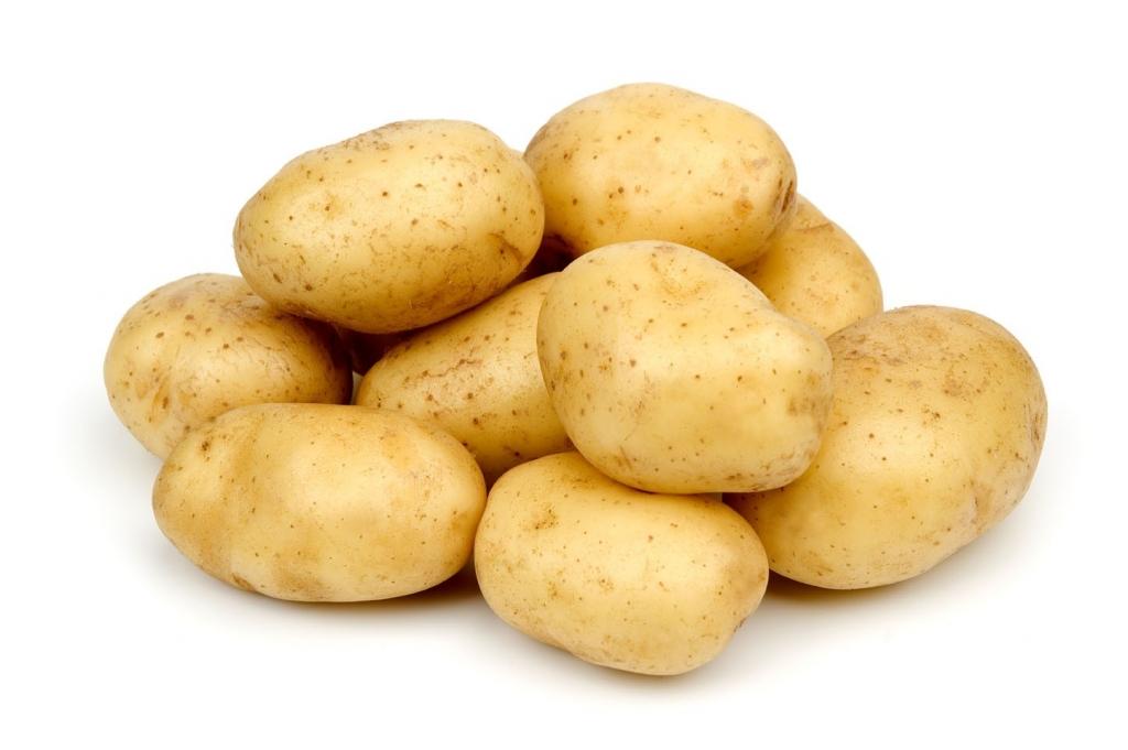 Картофель от нежелательных волос на лице