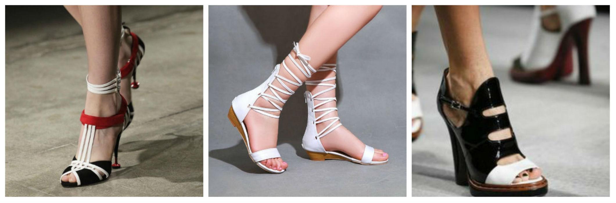 Простота в летней обуви 2016 года