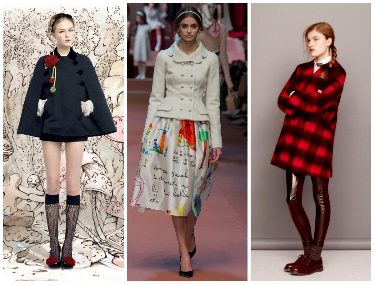 Ретро-стиль в моде для подростков 11-15