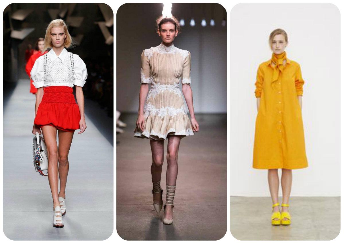 Ретро стиль в одежде в 2016