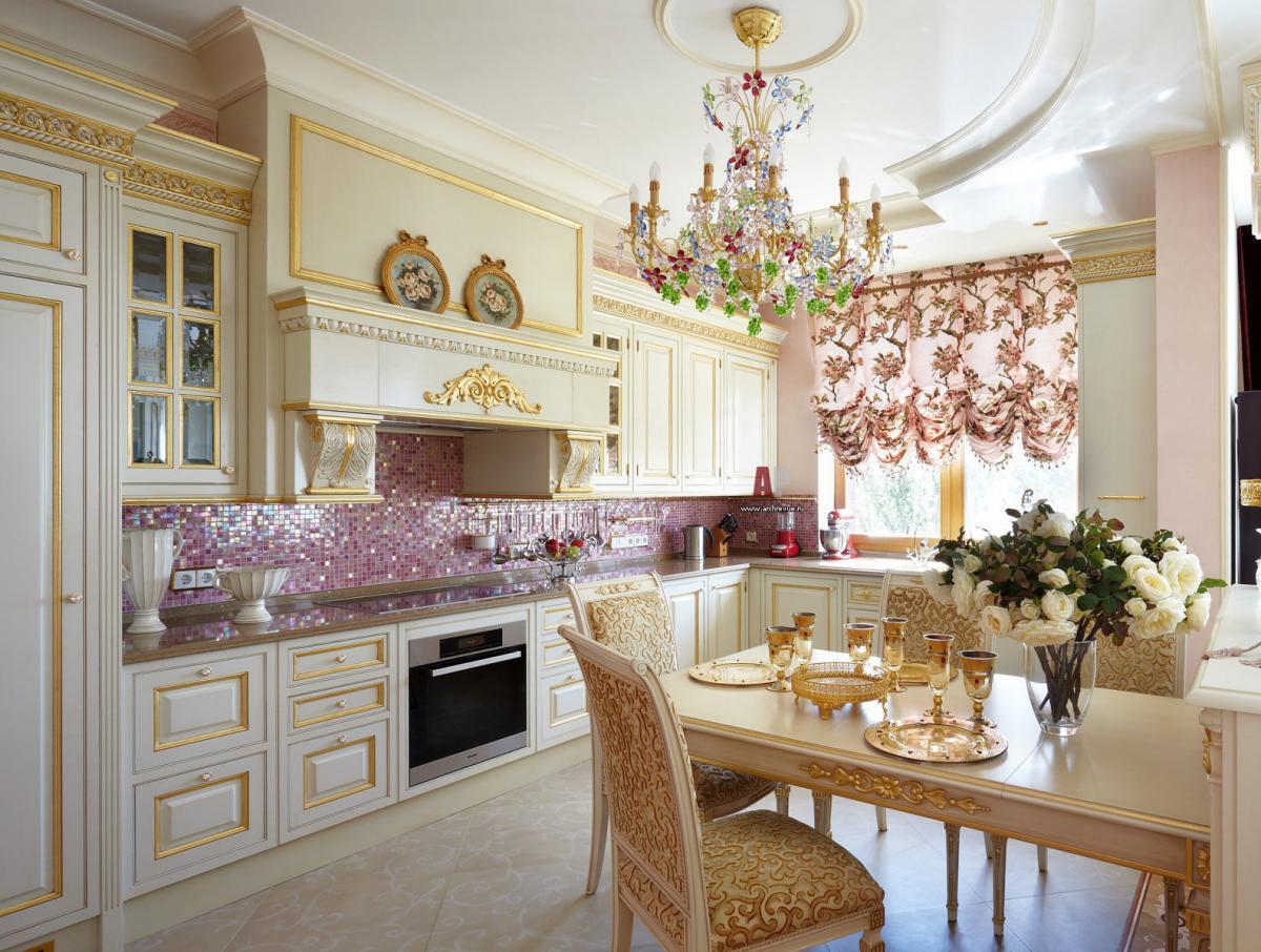 Шикарные шторы на кухню в 2016 году