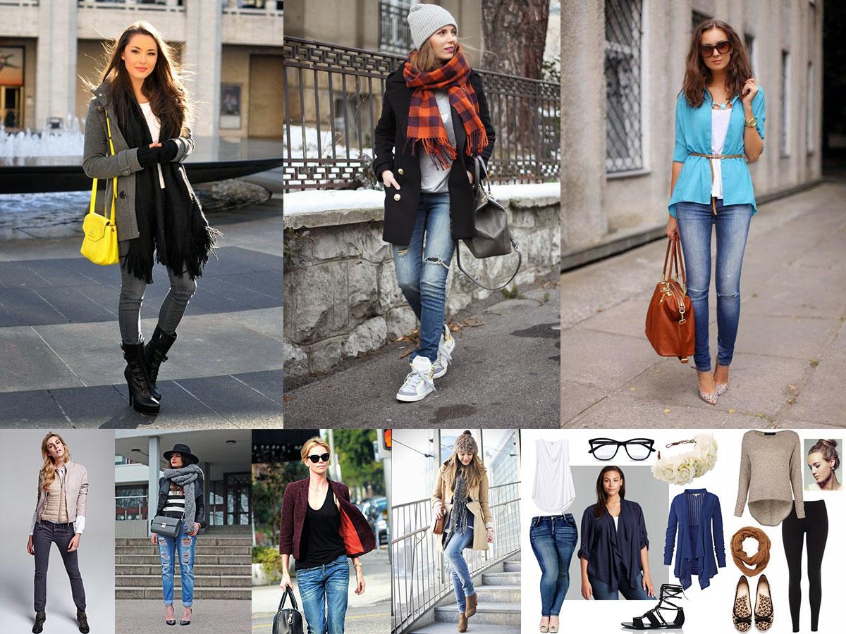 Стильная одежда для подростка-девочки