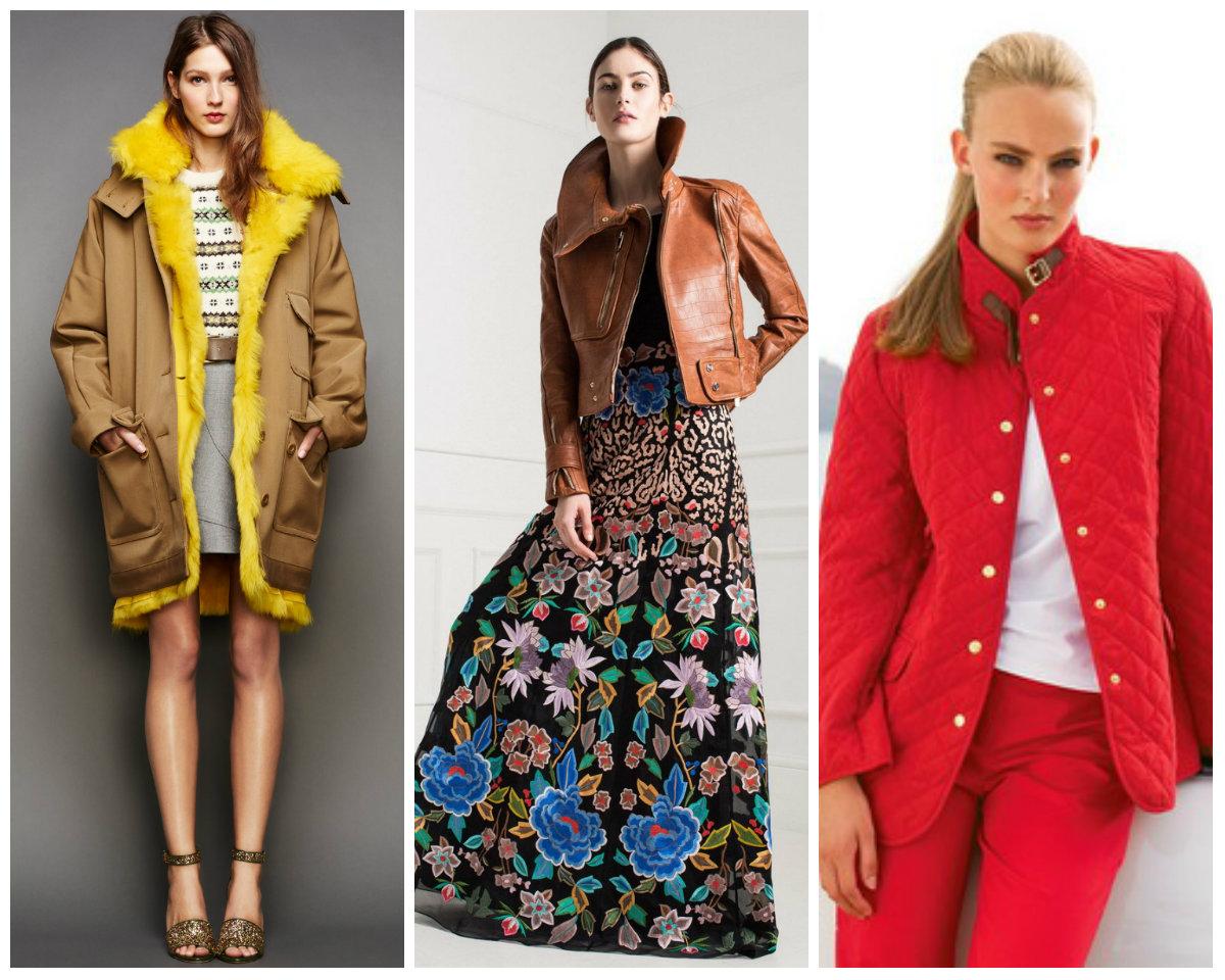 Кожаные куртки расцветки