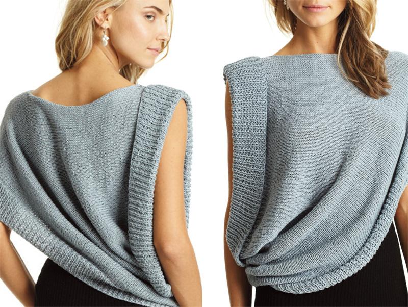 Модные свитера и вязаные кофты осень-зима 2016