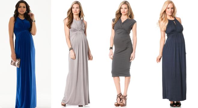 Вечерняя мода для беременных