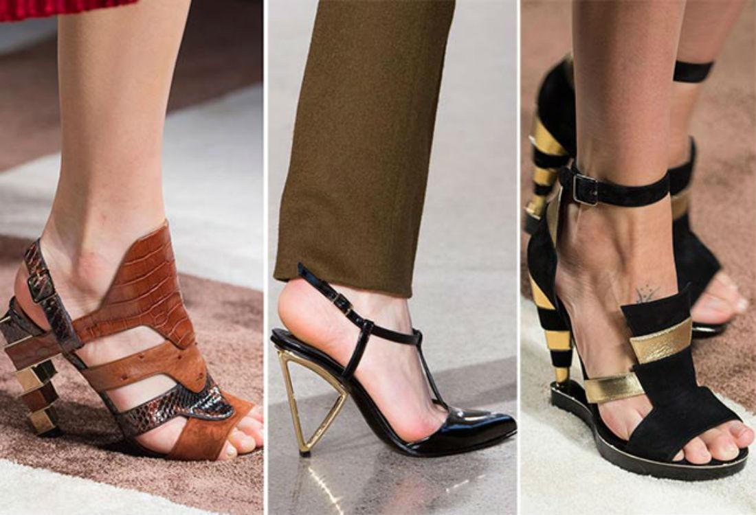 Видоизмененная классика в обуви