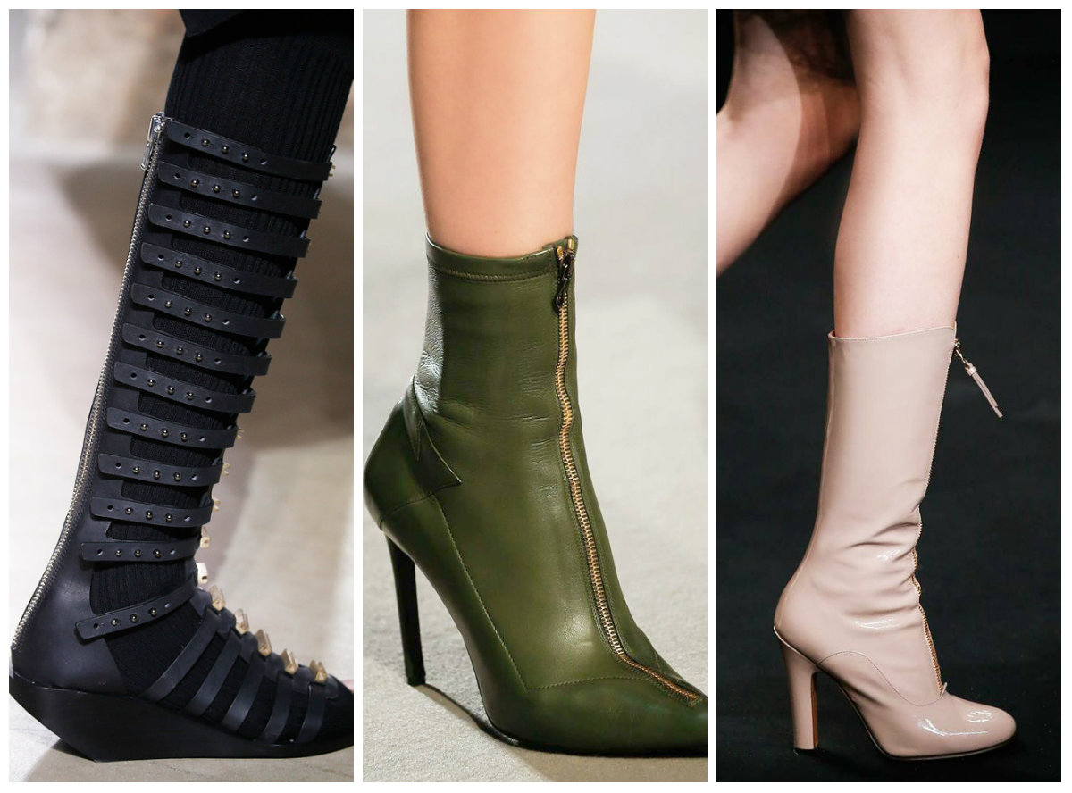 Замки на обуви осень-зима 2016-2017